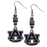 Auburn Tigers Euro Bead Earrings - Star Spangled 1776