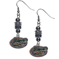 Florida Gators Euro Bead Earrings - Star Spangled 1776