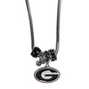 Georgia Bulldogs Euro Bead Necklace - Star Spangled 1776