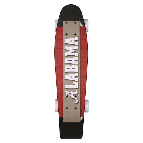 Alabama Crimson Tide Aluminati Goby Skateboard - Star Spangled 1776
