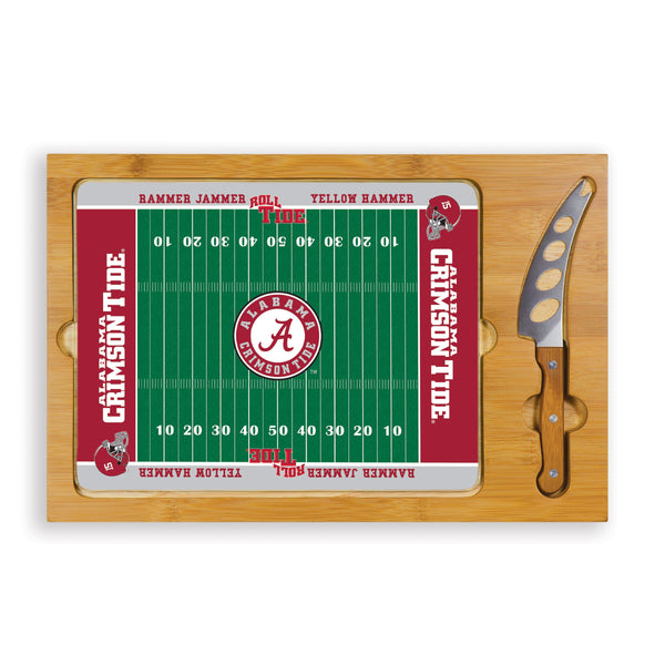 Alabama Crimson Tide ICON Cutting Board With Serving Tray - Star Spangled 1776