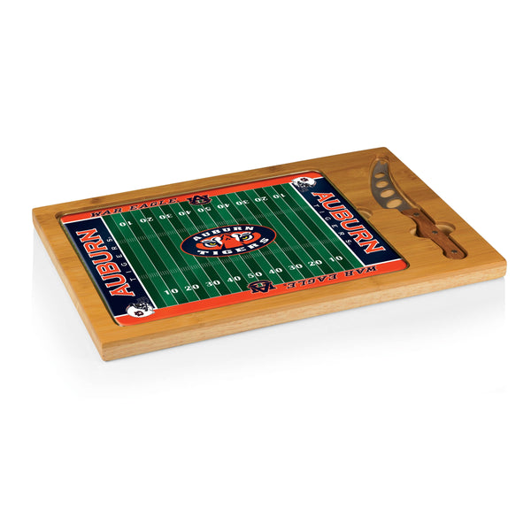 Auburn Tigers ICON Cutting Board With Serving Tray - Star Spangled LLC