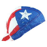 Patriot Vented Polyester Flydanna Bandanna - Star Spangled 1776
