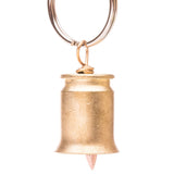 Lucky Shot USA Bullet Guardian Bell - Brass - Star Spangled 1776