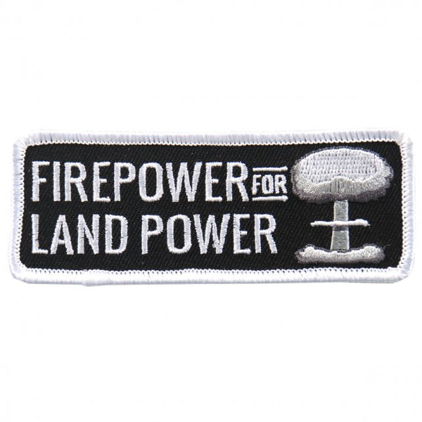 Firepower For Land Embroidered Patch - Star Spangled 1776