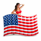 Giant American Flag Pool Float - Star Spangled LLC