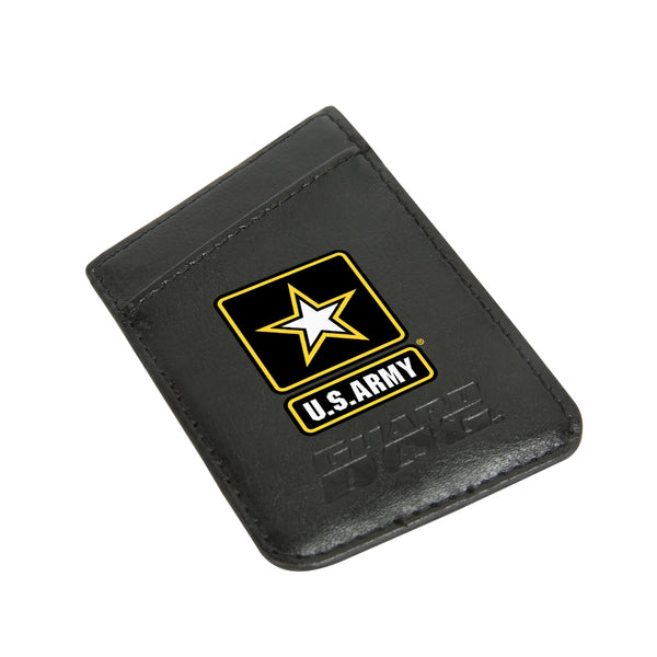 bada6aca5d Army Credit Card Keeper Leather Phone Wallet with RFID Protection