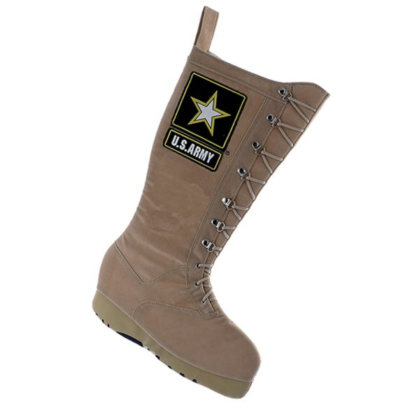 U.S. Army Combat Boot Christmas Stocking - Star Spangled LLC