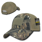 HYBRiCAM Air Mesh Tactical Cap- Grey Bark - Star Spangled 1776