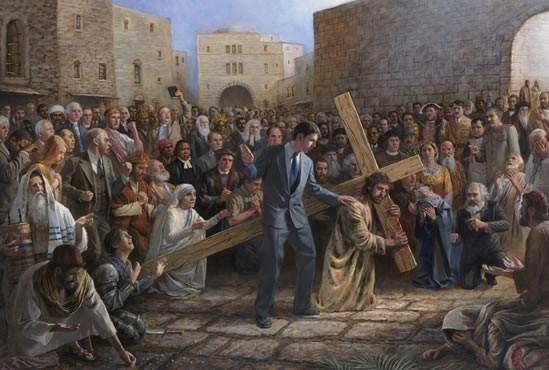 Via Dolorosa Framed Art Print by Jon McNaughton - Star Spangled LLC