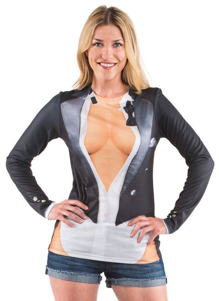 Cleavage Tux T-Shirt - Star Spangled LLC