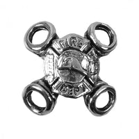 Fire Department Silver Lace Up Charm Six Pack - Star Spangled LLC