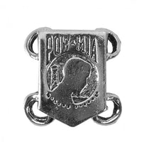 POW MIA Silver Military Veteran Lace Up Charm Six Pack - Star Spangled LLC