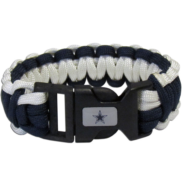 Dallas Cowboys NFL Football Team Paracord Survival Bracelet - Star Spangled 1776