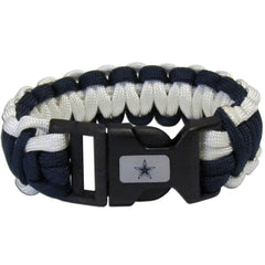 Dallas Cowboys NFL Football Team Paracord Survival Bracelet