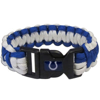 Indianapolis Colts NFL Football Team Paracord Survival Bracelet - Star Spangled 1776