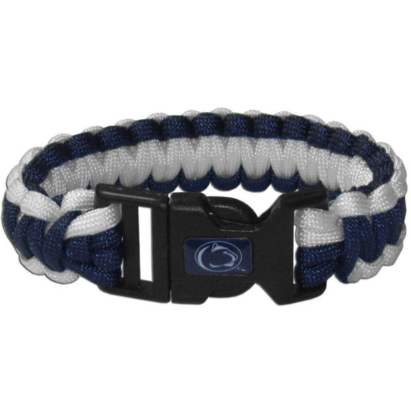 Penn St. Nittany Lions NCAA Football Team Paracord Survival Bracelet - Star Spangled 1776