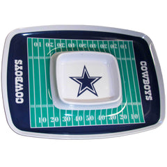Dallas Cowboys NFL Football Team Chip and Dip Tray