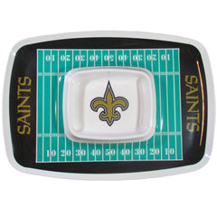 New Orleans Saints NFL Football Team Chip and Dip Tray