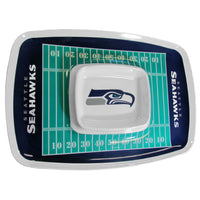 Seattle Seahawks NFL Football Team Chip and Dip Tray - Star Spangled 1776