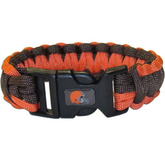 Cleveland Browns NFL Football Team Paracord Survival Bracelet