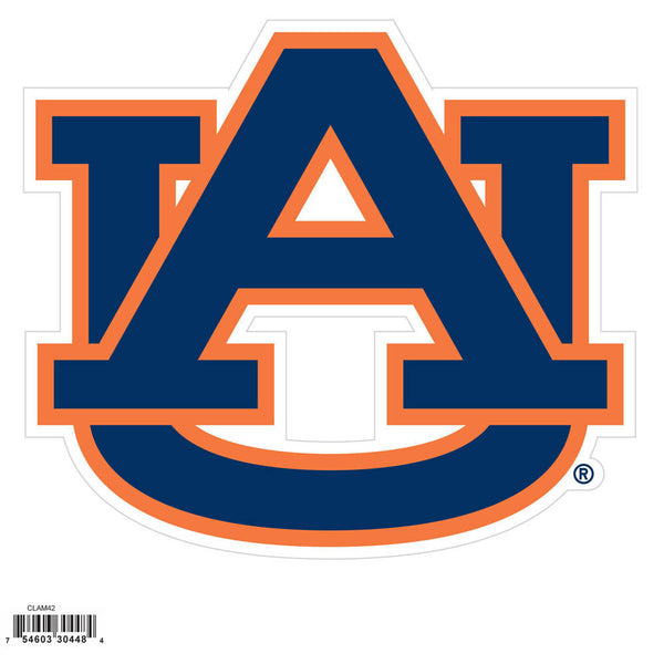 Auburn Tigers NCAA Football Team 8 inch Logo Magnet - Star Spangled 1776