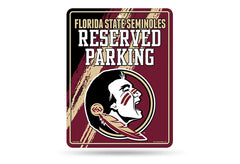 Florida State Seminoles NCAA College 8.5 X 11 Parking Sign