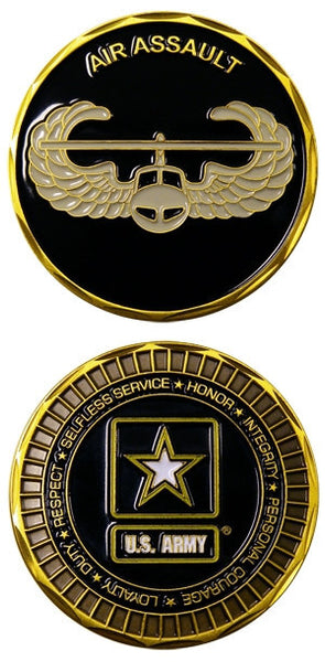 US Army Air Assault Wings Army Challenge Coin - Star Spangled 1776