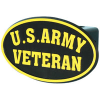 U.S. Army Veteran Military Trailer Hitch Cover - Star Spangled 1776