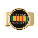 Vietnam Veteran Military Money Clip - Star Spangled 1776