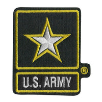 U.S. Army with Star Logo 3 inch Patch - Star Spangled 1776