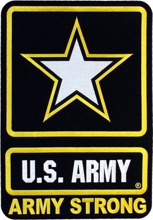 "U.S. Army Strong JKT BCK (11"") - Star Spangled 1776"