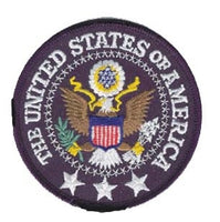 "United States of America Embroidered Patch (3.5"" Round) - Star Spangled 1776"