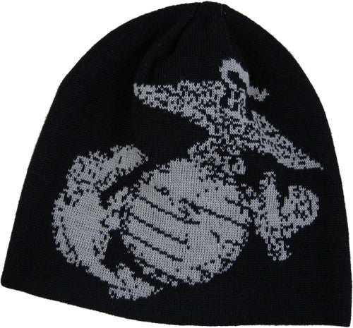 USMC Eagle Globe Anchor Knit Watch Cap Beanie - Star Spangled 1776