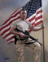 Stand Your Ground Lithograph Art Print by Jon McNaughton