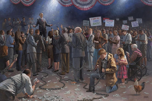Wake Up America Lithograph by Jon McNaughton - Star Spangled 1776
