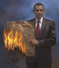 One Nation Under Socialism Lithograph Art Print by Jon McNaughton