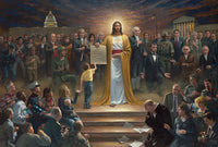 Peace Is Coming Lithograph Print by Artist Jon McNaughton - Star Spangled 1776