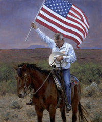 Pray for America Lithograph Art Print by Jon McNaughton