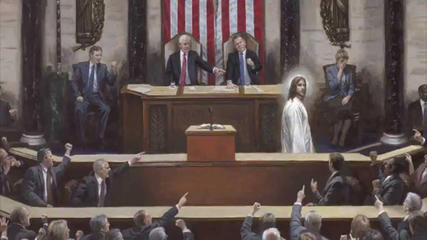 Separation of Church and State Lithograph by Jon McNaughton- 11 X 14 OE - Star Spangled 1776