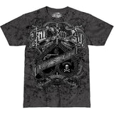 Kill 'Em All T-Shirt- 7.62 Design Grey Graphic Military Tee Shirt - Star Spangled 1776