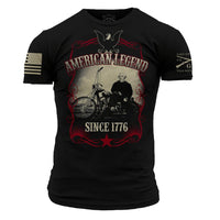 American Legend T-Shirt- Grunt Style Men's Graphic Military Tee Shirt