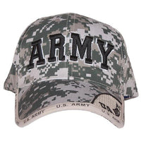 Army Terrain Digital Embroidered Military Ball Cap