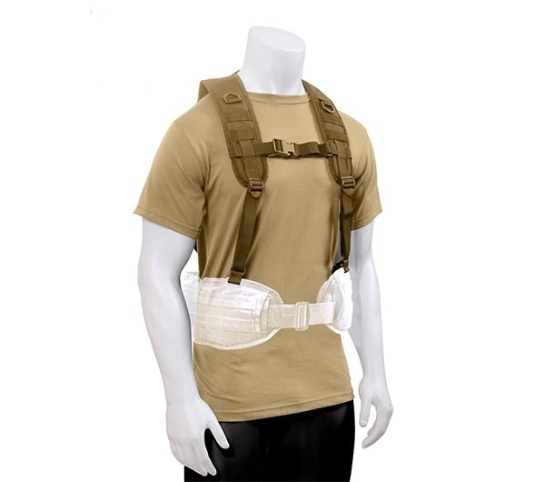 Tactical Battle Harness- Coyote Brown