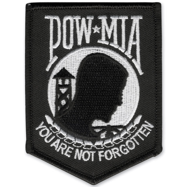 POW MIA Embroidered Patch - Star Spangled 1776