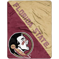 "Florida State Seminoles 46"" x 60"" Halftone Micro Raschel Throw Blanket"