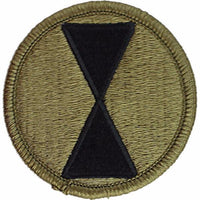 7th Infantry Division Embroidered Patch