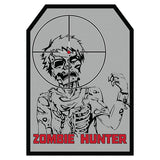 Zombie Hunter Embroidered Hook Back Morale Patch