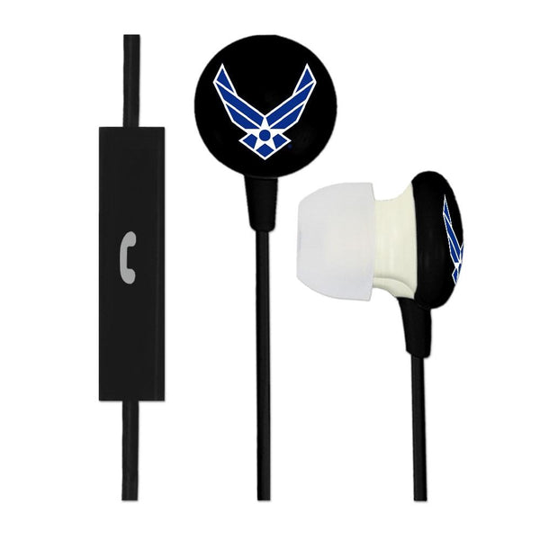 Air Force Military Ignition Earbuds Plus Mic