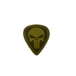 Punisher PVC Patch Brown/ Tan